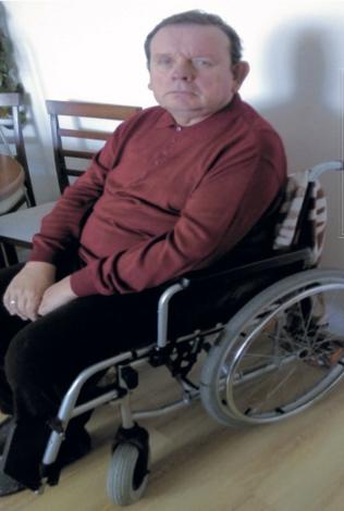 Waldemar potrzebuje rehabilitacji po udarze