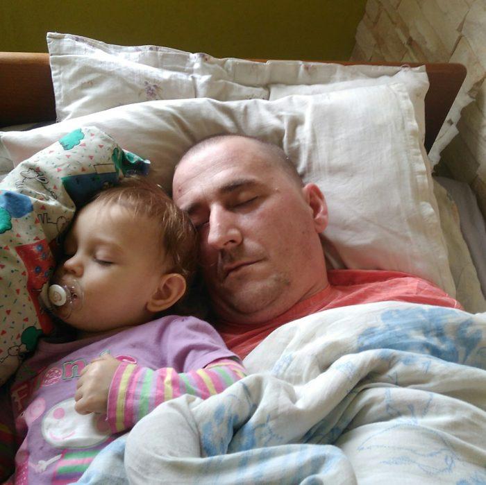 Moim marzeniem jest móc ponownie przytulić córeczkę