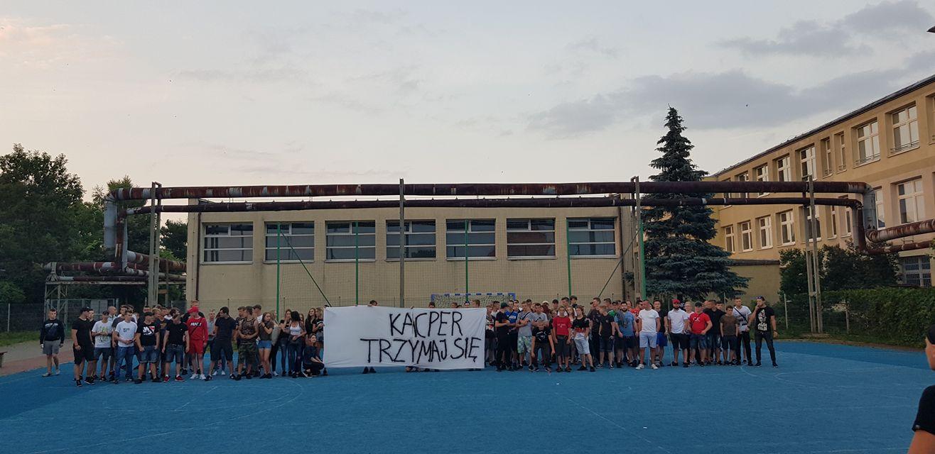 Solidarni z Kacprem