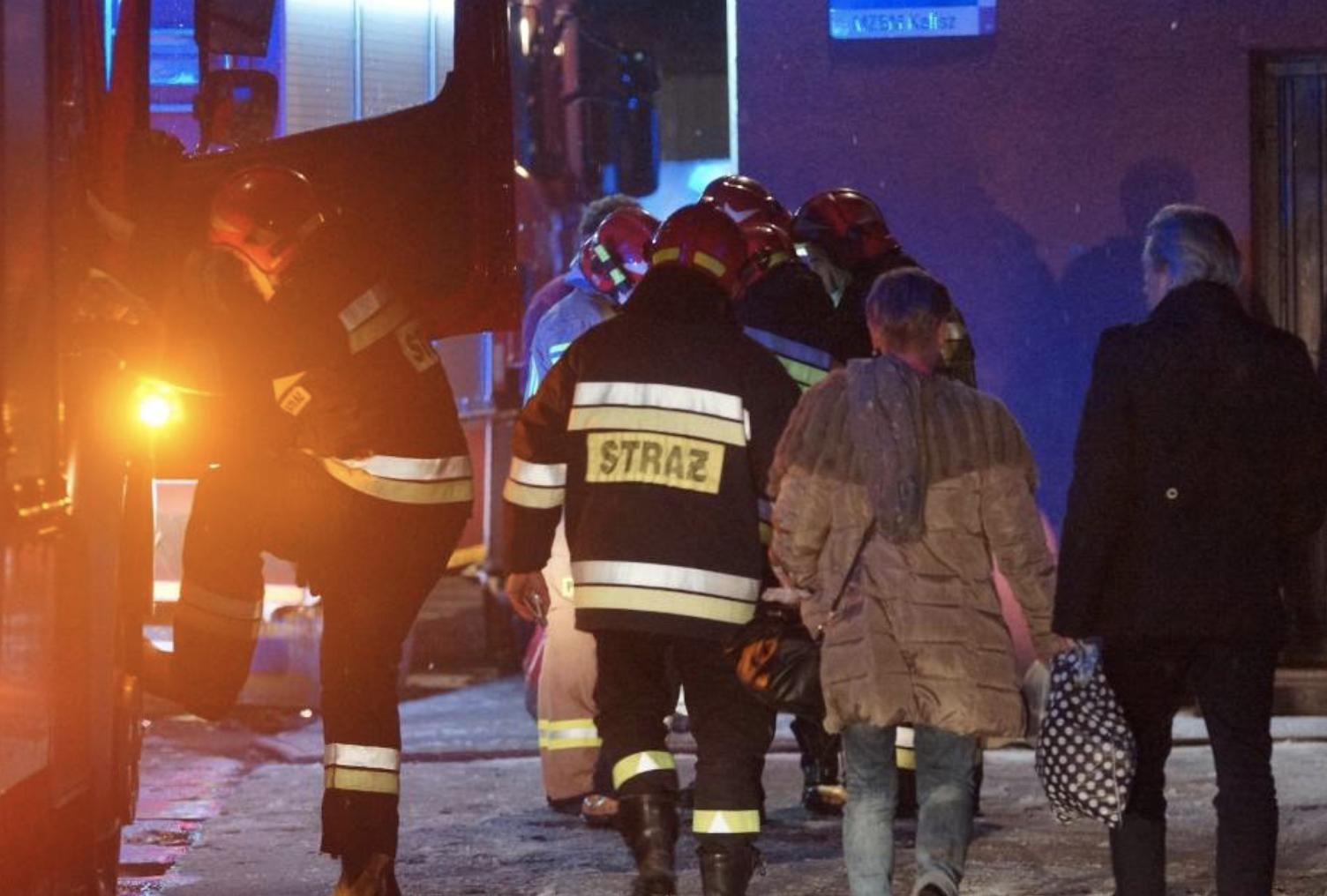 Pożar zabrał dom trzynastoosobowej rodzinie