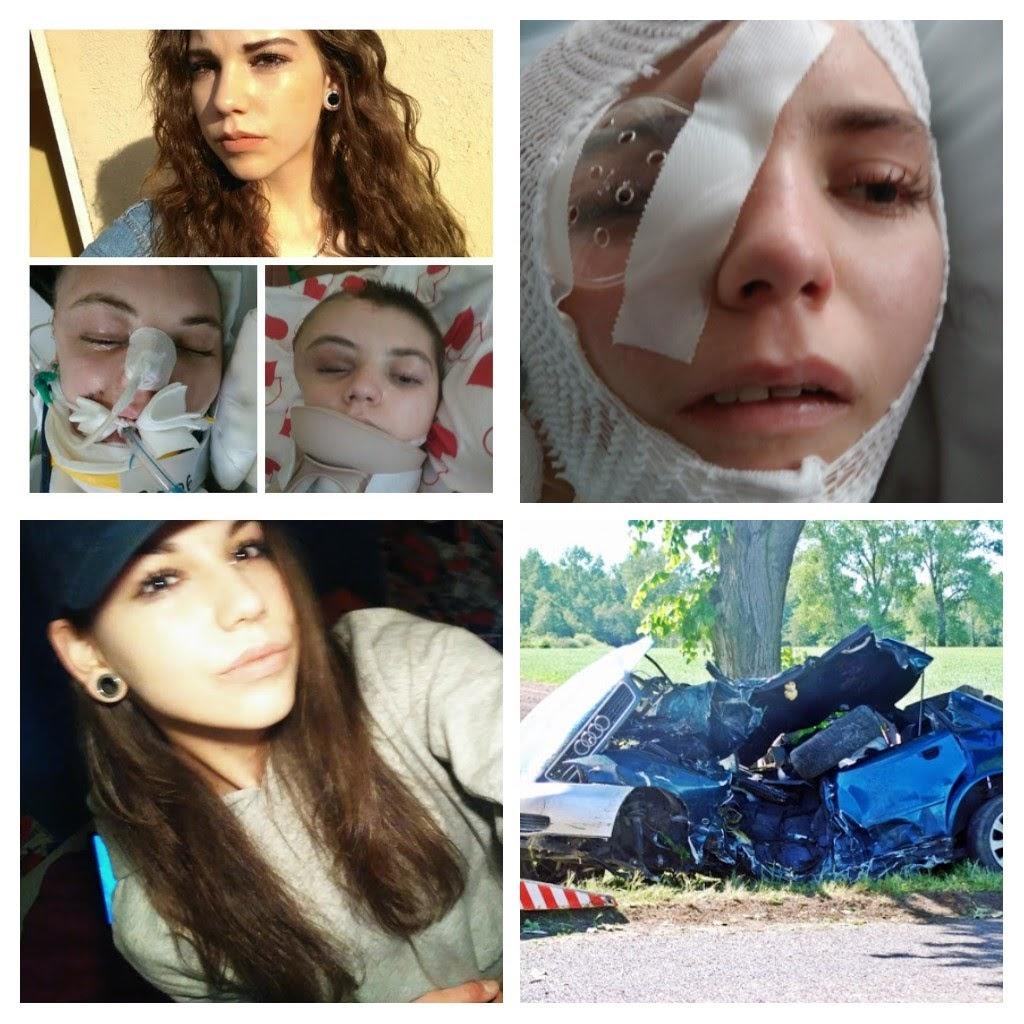 Julka ucierpiała w wypadku samochodowym