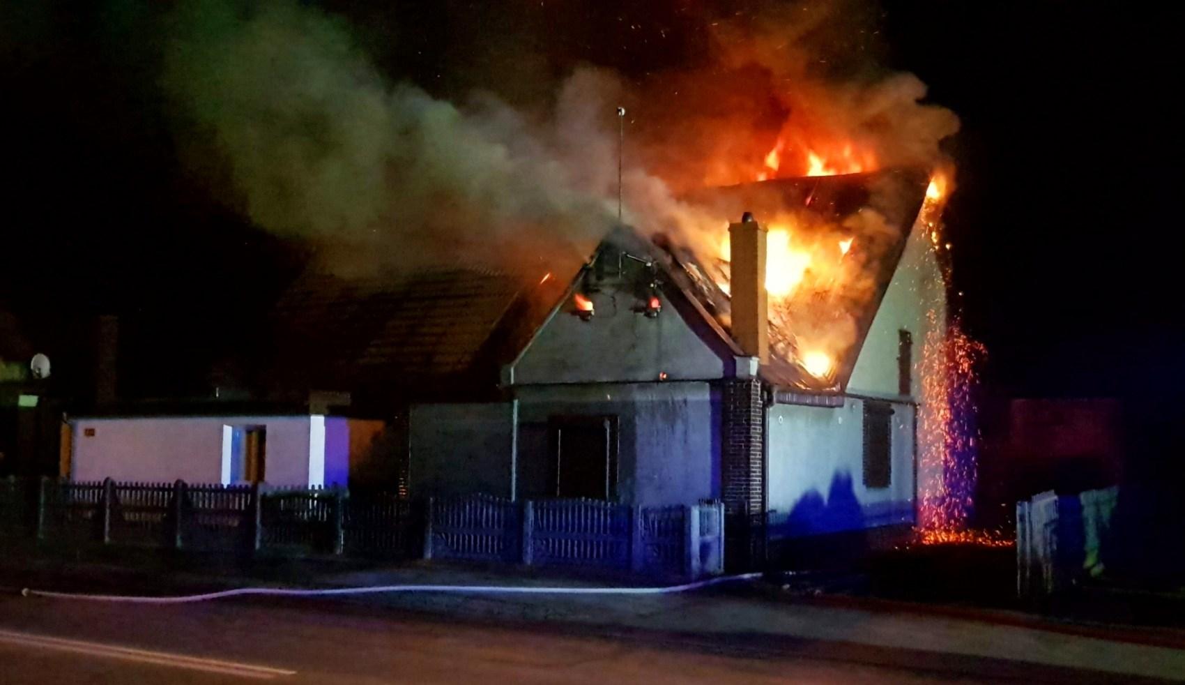 Pomoc poszkodowanym w pożarze