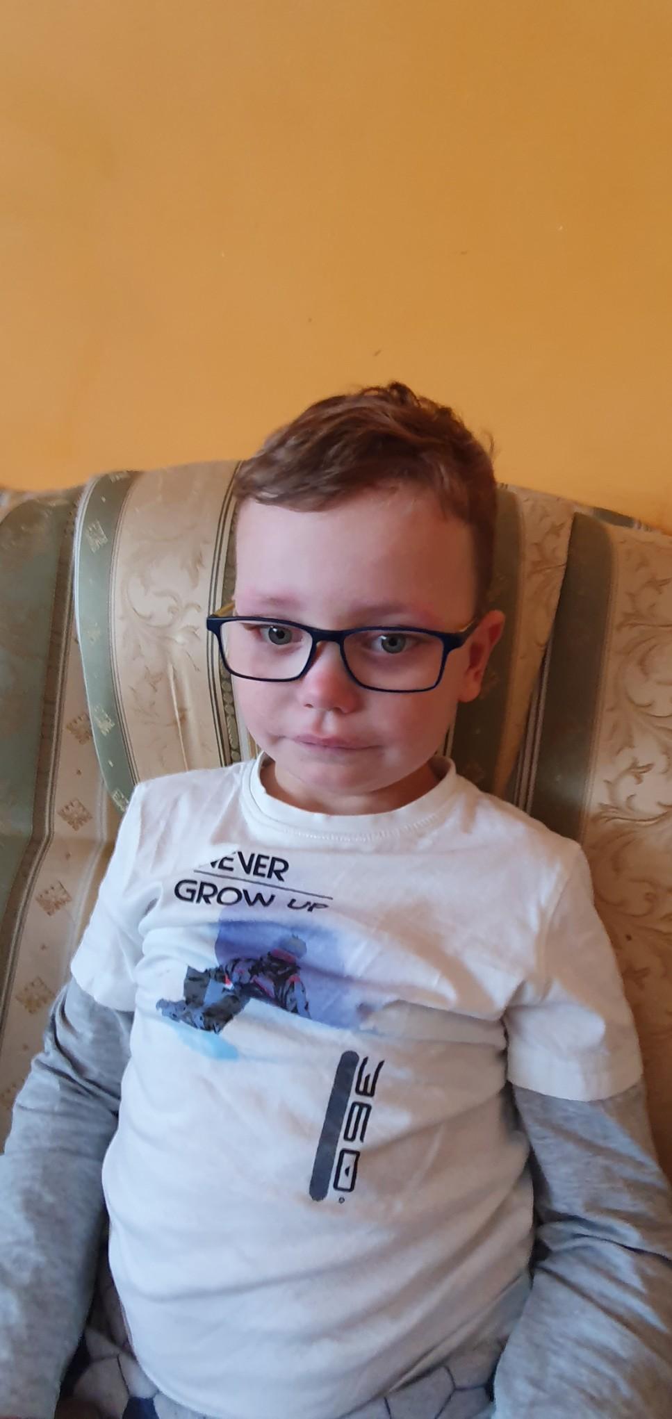 Moim marzeniem jest, aby mój syn pojechał na turnus rehabilitacyjny